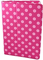 Accellorize 890968171542 17154 7.0-inch Universal Folio Case - Pink Dot