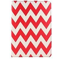 Accellorize 17145 7.0 inch Universal Folio Tablet PC Case Red Chevron