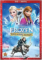 Walt Disney Video 786936843866 Frozen Sing Along Edition - Dvd
