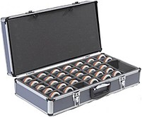 Promethean DR 5302028532 Activote Case Holds 32 Activotes Voting Pods Gray Handle Locks with keys included