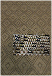 Grace Collection 39208/273 Outdoor Rug - 240 x 305 - Diamante - Derclon Fiber - Flat Weave - Brown/Black/Cream