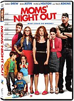 Sony 043396439313 826425 Moms' Night Out - Dvd