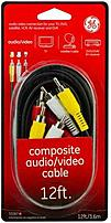 GE 33267 12.0 feet Composite Audio Video Cable