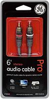 GE Pro Performance 37606 6.0 feet Stereo Audio Cable