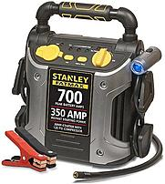 The Stanley FatMax J7CSR 700A Peak Jump Starter with Compressor offers a convenient, portable way to power up your battery without the need of another vehicle