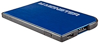 Monster PowerCard 133346-00 Portable Battery - Cobalt Blue