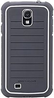 Body Glove 9368201 Shocksuit Case For Samsung Galaxy S4 Smartphone - Charcoal, White