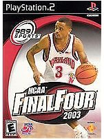 Sony 711719720423 NCAA Final Four 2003 PlayStation 2