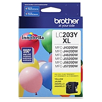 Brother Innobella LC203Y Ink Cartridge - Yellow - Inkjet -