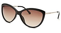 Michael Kors M2491s-001-58 58 Mm Cat-eye Sunglasses - Black