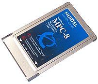 Nortel Networks NTRH01AA MPC-8 Multimedia Processing Card