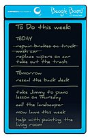 The Boogie Board PT01085CYAA0002 8.5 inch LCD Writing Tablet lets you take notes whenever the need arises