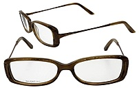 Valentino VAL-5525-NHJ-51 Unisex Plastic Frame Eyeglasses - Brown