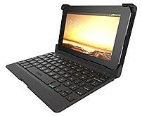 Zagg ANS7IN-BB0 7.0-inch Auto-Fit Bluetooth Keyboard Folio Case - Black