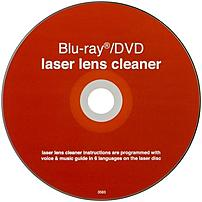 Keep your laser lens clean with the GE 10618 Blu Ray DVD Laser Lens Cleaner