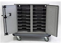 Datamation Systems DS-SHC-16 SafeHarbor Security Cart - Charges up to 16 Notebooks - 16-Modules