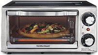 Hamilton Beach 040094311378 31137 4-slice Toaster Oven Broiler - Stainless Steel