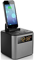 Start your day fully charged with the Philips AJT3300 Bluetooth Clock Radio