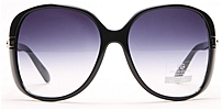 Anais Gvani AG-U012-10-522-9 Womens Oversized Sunglasses - Black