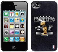 Coveroo 401 9356 BK HC San Antonio Spurs Champions Thinshield Snap On Case for iPhone 4 4S Black