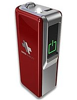 Swiss Mobility SB2200-R Power Pack for iPhone, iPad, Android and USB Devices - Red