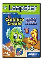 The LeapFrog Leapster 1324027 Learning Game Creature Create Let your imagination run wild as you invent your own creature and construct a world of its own