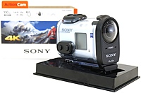 Sony FDR X1000V W 8.8 Megapixels 4K Action Camera with Wi Fi and GPS 1x Optical Zoom 3840 x 2160 White