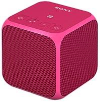 Sony SRS-X11/PNK Portable Wireless Speaker with Bluetooth - 10 Watts - Pink