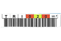 EDP 1700-003T LTO Ultrium Generation 3 Data Cartridge Barcode Label - 20 Labels Per Sheet