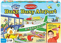 Set up your destinations around the room, load your plane with your favorite Wonder Forge Richard Scarry Busytown 1055 Busy, Busy Airport Game, and wait for the all clear from the control tower