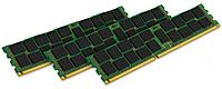 Kingston 12GB DDR3 SDRAM Memory Module - 12 GB (3 x 4 GB) - DDR3 SDRAM - 1333 MHz DDR3-1333/PC3-10600 - 1.50 V - ECC - Registered - 240-pin - DIMM