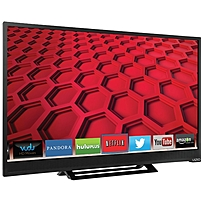 The Vizio E28H C1 28 inch LED Smart TV is designed with the LED backlighting technology to provide a bright and vibrant image while conserving energy
