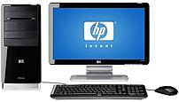 The HP Pavilion a4313w b Desktop PC looks great in any room and handles all your computing needs, like e mail and word processing