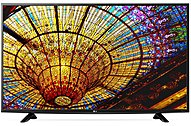 Lg 43uf6400 43-inch Led Smart 4k Ultra Hdtv - 3840 X 2160 - Pmi 900 - Triple Xd Engine - Real Cinema 24p - Wi-fi - Hdmi