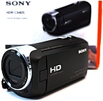 Sony HDR-CX405/B 2.51 Megapixel Handycam with Lens - 350x Digital/30x Optical Zoom - 2.7-inch Display - 26.8 mm wide angle - Black
