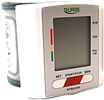 The Gurin Pro Series BPM265W Wrist Digital Blood Pressure Monitor stores up to 180 blood pressure readings with date and time Memory recall  90 readings x 2 users , and automatically classifies each blood pressure reading according to World Health Organization hypertension guidelines