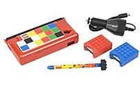 The LEGO Armor Case Starter Kit for your Nintendo DSi system lets you take a world of Lego adventure on the road with you