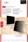 3M PF23.8W9 Privacy Filter for Widescreen Desktop LCD Monitor 23.8' Black - 23.8'Monitor