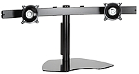 Chief MSP-DCCKTP225G KTP225B Widescreen Dual Monitor Table Stand - Black