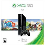Microsoft Xbox 360 L9v-00039 Gaming Console Bundle With Peggle 2 - 4 Gb - Black