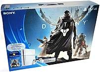 Sony Playstation 4 3000460 Gaming Console Destiny Bundle - Wireless - Glacier White - Ati Radeon - Blu-ray Disc Player - 500 Gb Hdd - Gigabit Ethernet - Bluetooth - Wireless Lan - Hdmi - Usb - Octa-core (8 Core)
