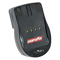 DigiPower DSLR-500N AC Charger - For Nikon SLR - 110 V AC, 220 V AC Input - Yes