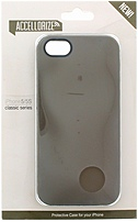 Accellorize 890968161031 Classic Series Case for iPhone 5/5S - Grey