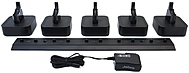 GN Netcom Pro 9400 Series 14207-15 5 Unit Headset Charger Stand for Jabra PRO 9460, 9460 DUO
