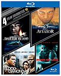 Warner Bros Home Video 883929401505 4 Film Favs: Leonardo Dicaprio - Blu-Ray 883929401505