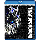 Paramount 032429075147 Transformers Revenge of the Fallen Two Disc Big Screen Edition Blu ray