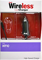 Just Wireless 705954031321 Car Charger for HTC Smartphone