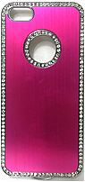 Couture 890968404459 Metallic Bling Case for iPhone 5/5S - Pink
