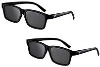 The Vizio XPG302 Theater 3D Glasses features Passive Circular Polarized 3D