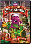 A very merry celebration is about to begin  Join your favorite purple dinosaur as he travels to the North Pole to discover the wonders of Santa's workshop, decorates the Christmas caboose, and teaches Baby Bop that the magic of Christmas is about giving, not receiving